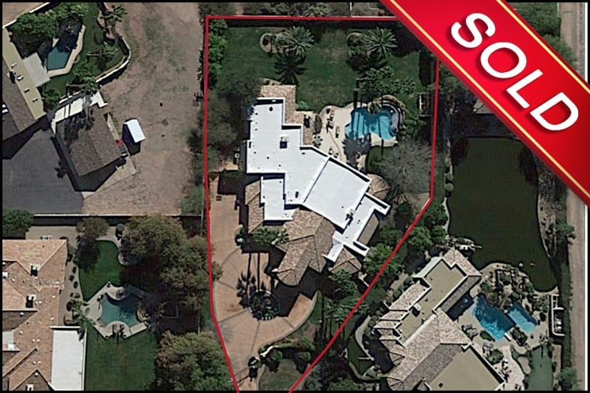 Alan Ripa, P.C. SOLD this home in the Town Of Paradise Valley